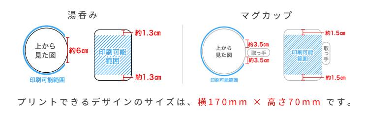 湯呑み|マグカップのサイズ