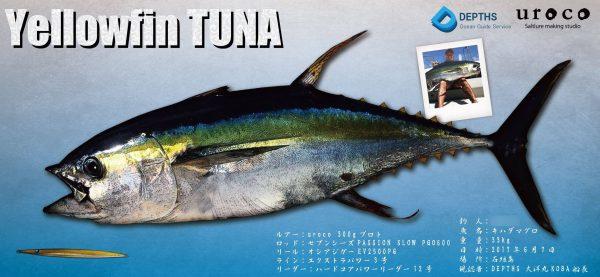 キハダマグロデジタル魚拓